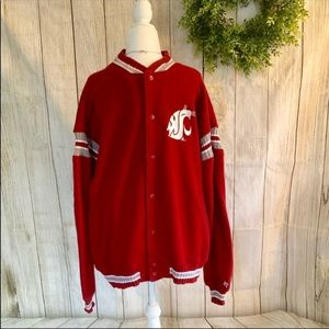 Russell Athletic. WSU Cougars Jacket. Size L